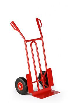 Rudl ocelový nosnost 250 kg, lopata 400x175, plná kola