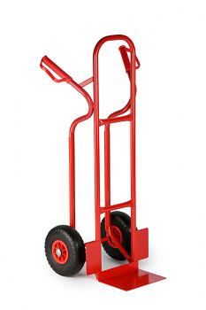 Rudl ocelový nosnost 250 kg, lopata 270x180, plná kola
