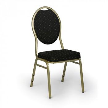 Konferenční židle BANQUET, černá