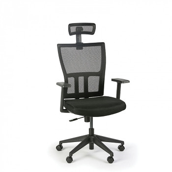 Kancelářská židle AT, černá
