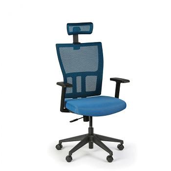 Kancelářská židle AT, modrá