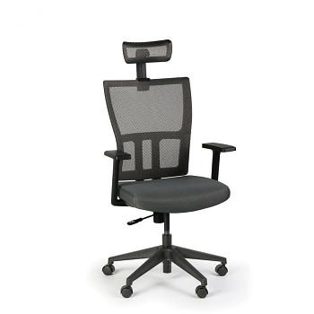 Kancelářská židle AT, šedá