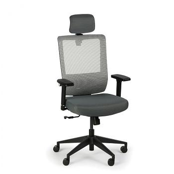 Kancelářská židle AE, šedá