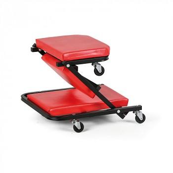 Dílenská montážní stolička - lehátko
