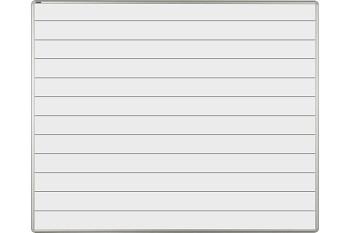 Bílá keramická popisovací tabule 1500x1200 mm, linky