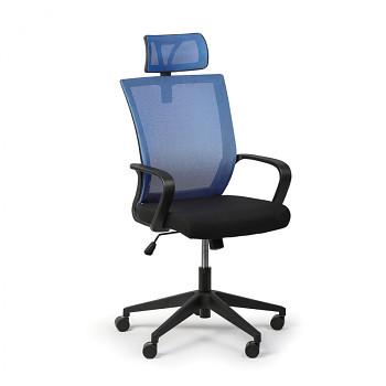 Kancelářská židle BASIC, modrá