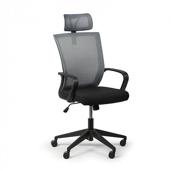 Kancelářská židle BASIC, šedá