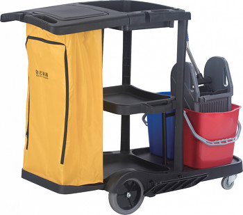 Úklidový vozík plastový s vakem