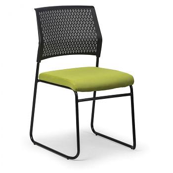 Konferenční židle MYSTIC zelená