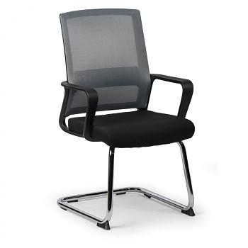 Konferenční židle LOW, šedá