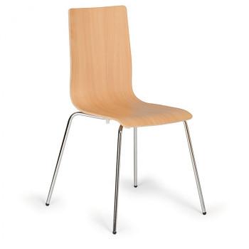 Dřevěná jídelní židle, buk, KENT