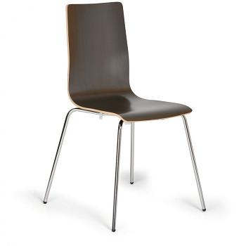 Dřevěná jídelní židle, wenge, KENT