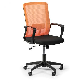 Kancelářská židle BASE, oranžová