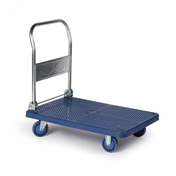 Plošinový vozík  300 kg,  900 x 600 mm, skládací