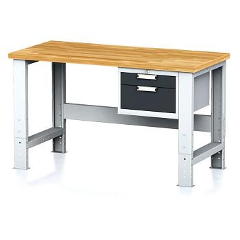 Dílenský stůl MECHANIC 1500x700, AZ2, SP