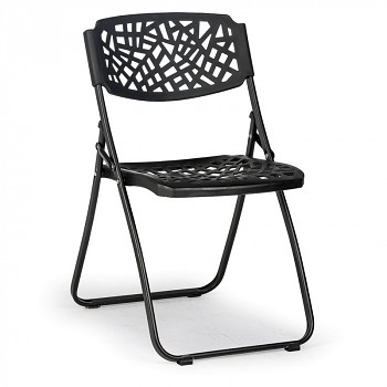 Skládací židle METRIC černá