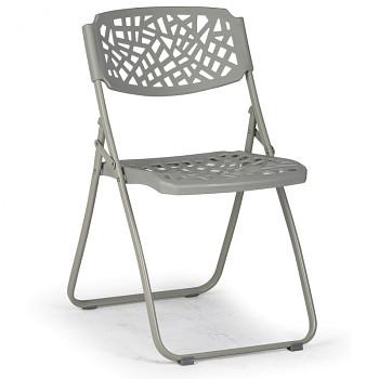 Skládací židle METRIC šedá