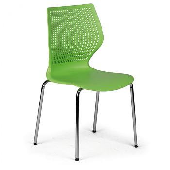 Jídelní židle POLY zelená