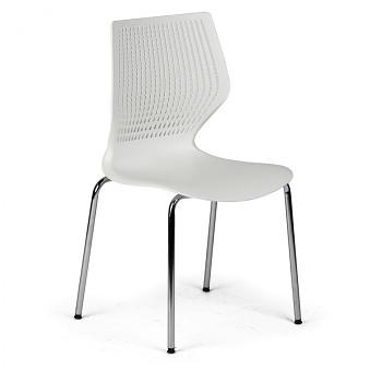 Jídelní židle POLY bílá