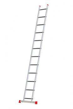 Hliníkový žebřík opěrný jednodílní 12 příček