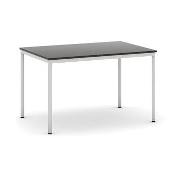 Jídelní stůl 1200x 800x 735, wenge, podnož světle šedá, JHN
