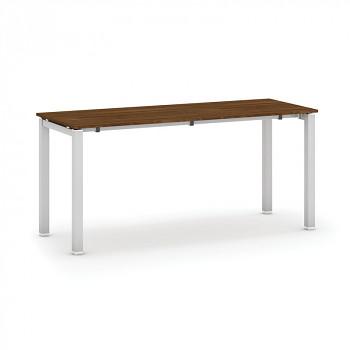 Jednací stůl 1600x 600x 745, ořech, podnož šedá, AIR