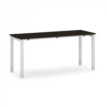 Jednací stůl 1600x 600x 745, wenge, podnož šedá, AIR