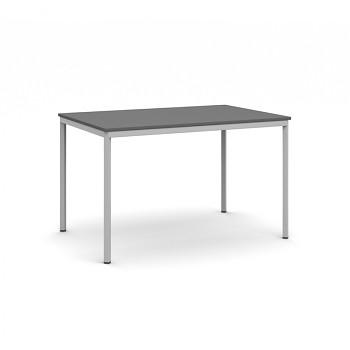 Jídelní stůl 1200x 800x 735, antracit, podnož světle šedá, JHN