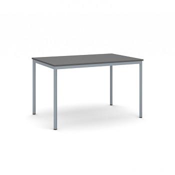 Jídelní stůl 1200x 800x 735, antracit, podnož tmavě šedá, JHN