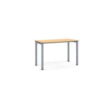 Jednací stůl 1200x 600x 750, buk, podnož šedá, SQUARE