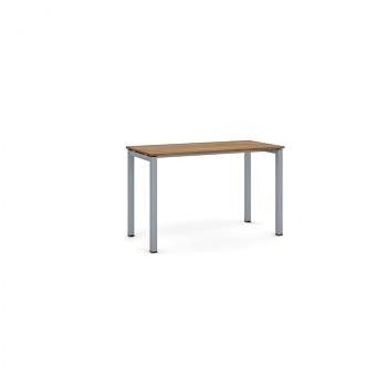 Jednací stůl 1200x 600x 750, ořech, podnož šedá, SQUARE