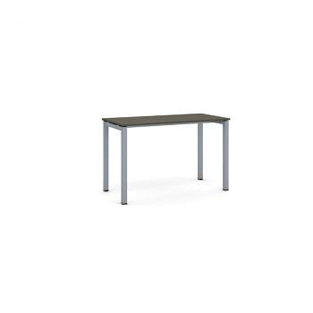 Jednací stůl 1200x 600x 750, wenge, podnož šedá, SQUARE