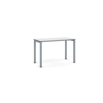 Jednací stůl 1200x 600x 750, šedá, podnož šedá, SQUARE