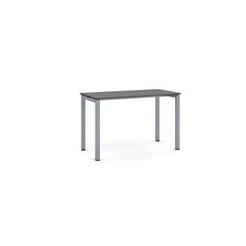Jednací stůl 1200x 600x 750, antracit, podnož šedá, SQUARE