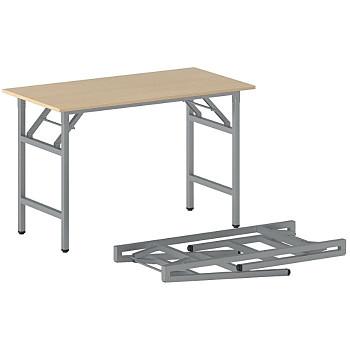 Konferenční stůl 1100x 500x 750, buk, podnož šedá, FAST READY