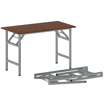 Konferenční stůl 1100x 500x 750, třešeň, podnož šedá, FAST READY