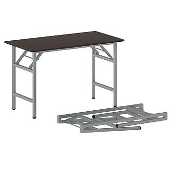 Konferenční stůl 1100x 500x 750, wenge, podnož šedá, FAST READY
