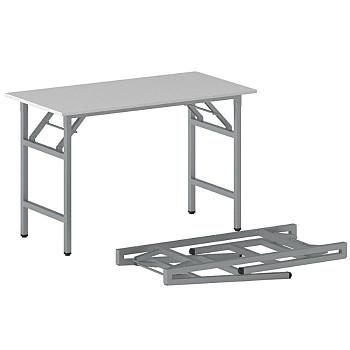 Konferenční stůl 1100x 500x 750, šedá, podnož šedá, FAST READY