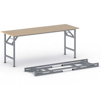 Konferenční stůl 1700x 500x 750, buk, podnož šedá, FAST READY