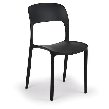 Jídelní židle REFRESCO, černá