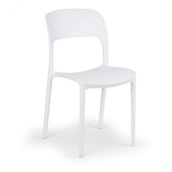 Jídelní židle REFRESCO, bílá