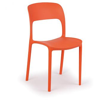 Jídelní židle REFRESCO, oranžová