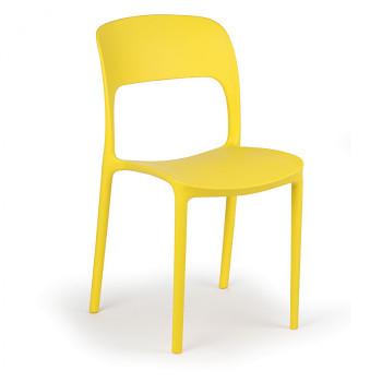 Jídelní židle REFRESCO, žlutá