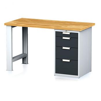 Dílenský stůl MECHANIC 1500x700, AP4