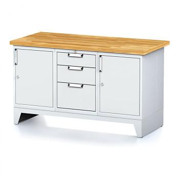 Dílenský stůl MECHANIC 1500x700, G(ABA)