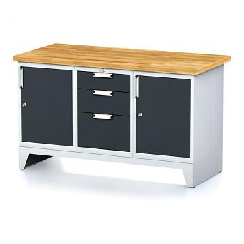Dílenský stůl MECHANIC 1500x700, A(ABA)