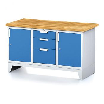 Dílenský stůl MECHANIC 1500x700, B(ABA)
