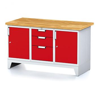 Dílenský stůl MECHANIC 1500x700, R(ABA)