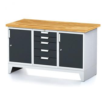 Dílenský stůl MECHANIC 1500x700, A(ACA)