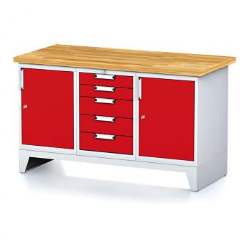 Dílenský stůl MECHANIC 1500x700, R(ACA)